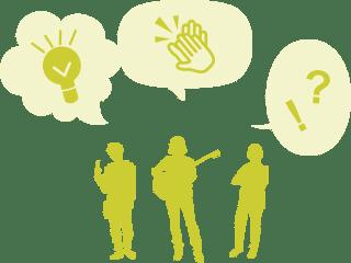 生徒一人ひとりの特性を活かすためにグループ指導を導入