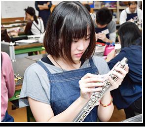 管楽器リペアラーになる夢を現実にする教育環境