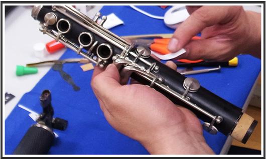 管楽器リペア工房
